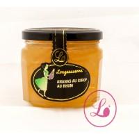 Ananas aromatisés au rhum
