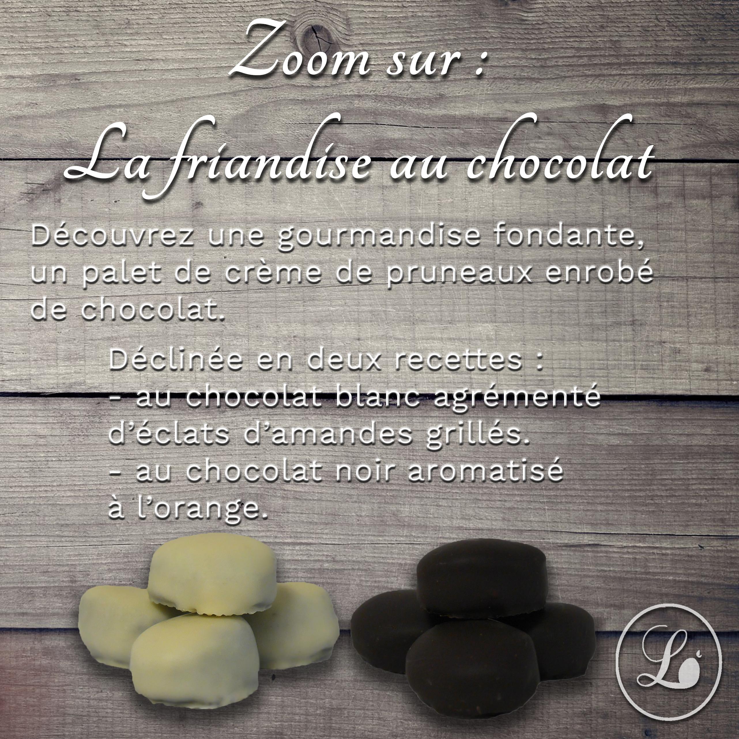 actualité Zoom sur : La friandise enrobée de chocolat