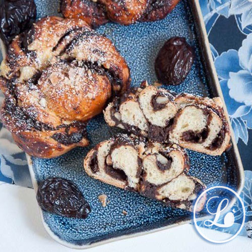 actualité Recette : Babkas à la crème de pruneaux et au chocolat