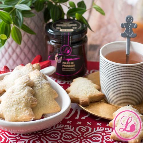 actualité Recette : Biscuits fourrés à la pulpe de pruneaux.